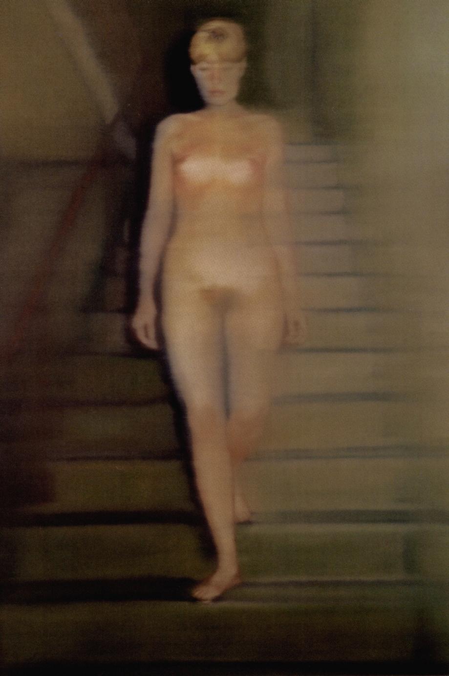 Gerhard Richter_Nu dans l'escalier 1966 Ludwig  pour Cosmos.jpg