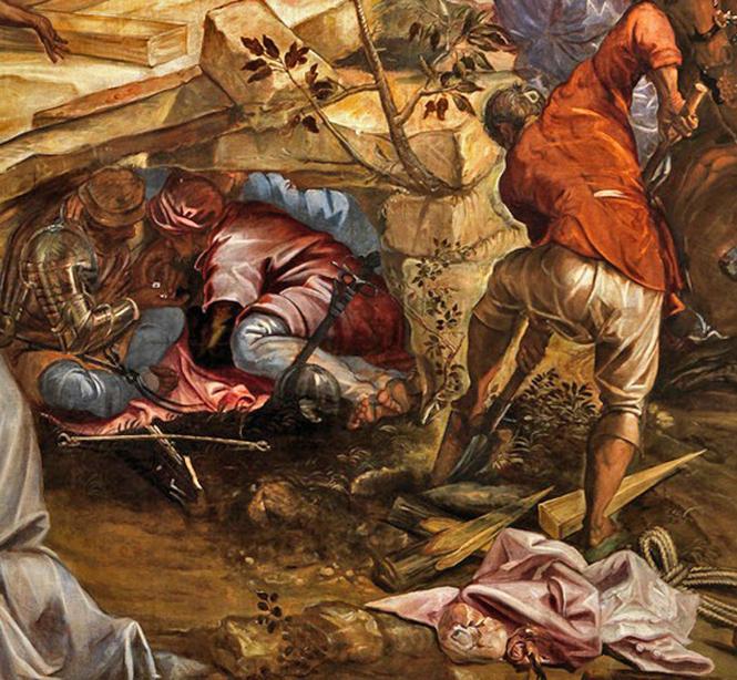 Tintoretto_crucifixion-dét D les dés le creusement.jpg