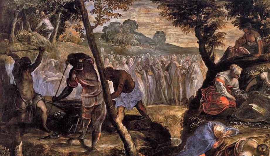 Tintoretto_Les Hébreux dans le désert 1593 San Giorgio Maggiore -dét1 BD.jpg