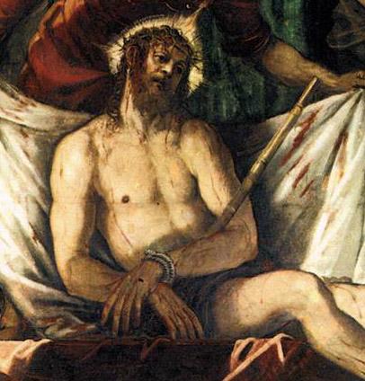 Tintoretto_Mur du fond 1 Couronnement d'épines (Ecce homo) dét Jésus  BD.jpg