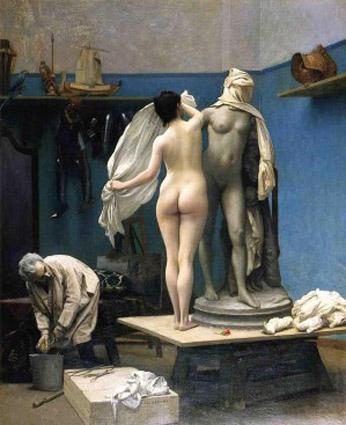 4 Gerome-Pygmalion-et-Galatee-La-fin-de-seance--1886   BD-.jpg