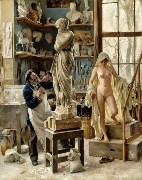 5 Edouard Joseph Dantan - una restauración de 1891   BD.jpg