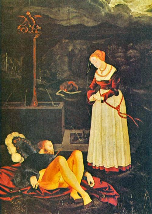 Hans Baldung_Pyrame et Thisbé - Berlin vers 1500  BD.jpg