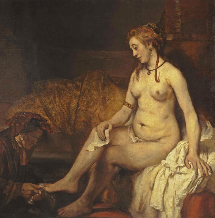 3 - Rembrandt_Bethsabee_tient la lettre  Louvre 1654  BD.jpg