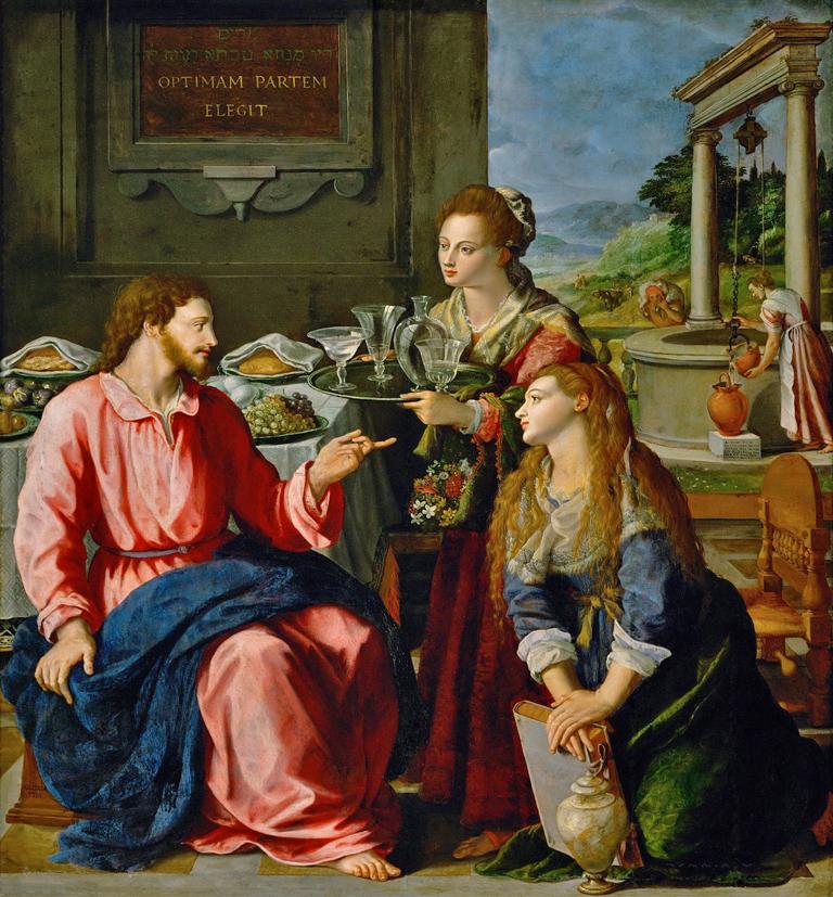 3 - Alessandro Allori_Jésus chez Marthe et Marie - 1605 KHM   BD.jpg