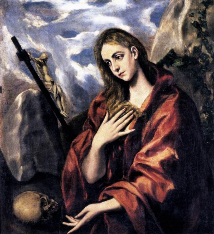 6 - Greco_Mary_Magdalen_in_Penitence-1585-90-II_Museu Cau Ferrat à Sitgès.jpg