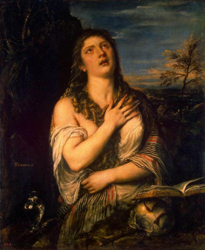 7 -+Tiziano _Mary Magdalene Repentant. (1490-1576) (3).jpg