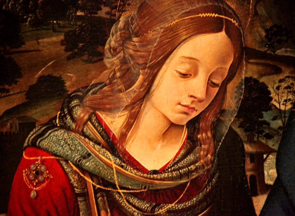 + Piero di Cosimo_Madone avec JB & Madeleine_Det. Madeleine   bd.jpg