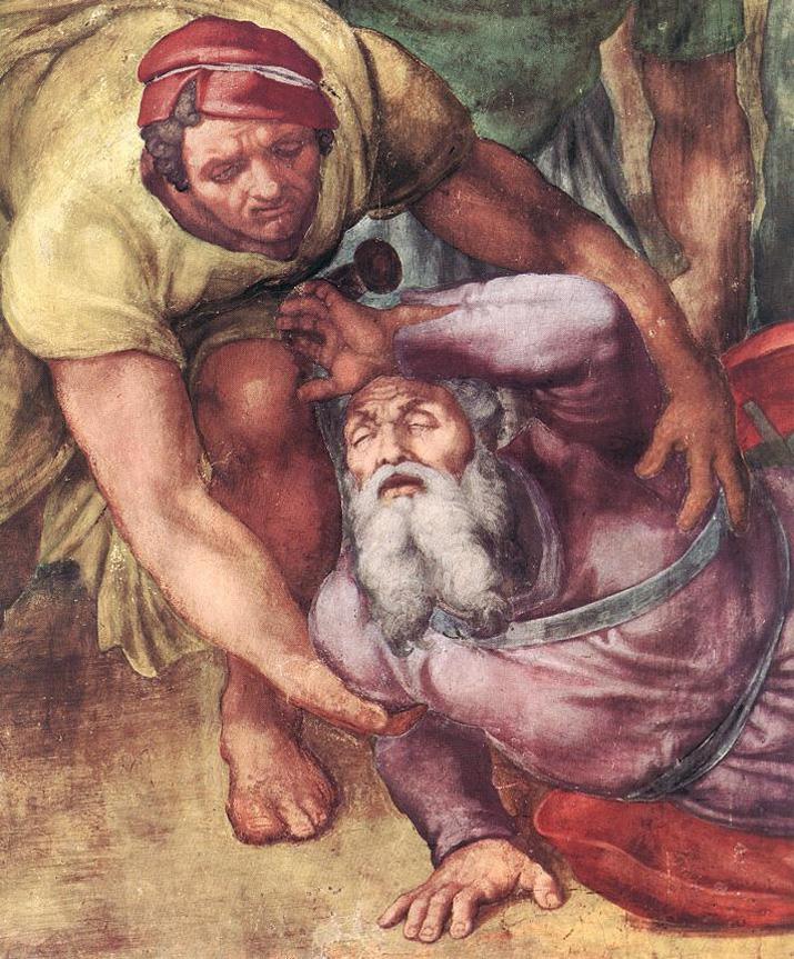 03-Michelangelo_ chapelle pauline Conversion de Saint Paul -détail  BD.jpg