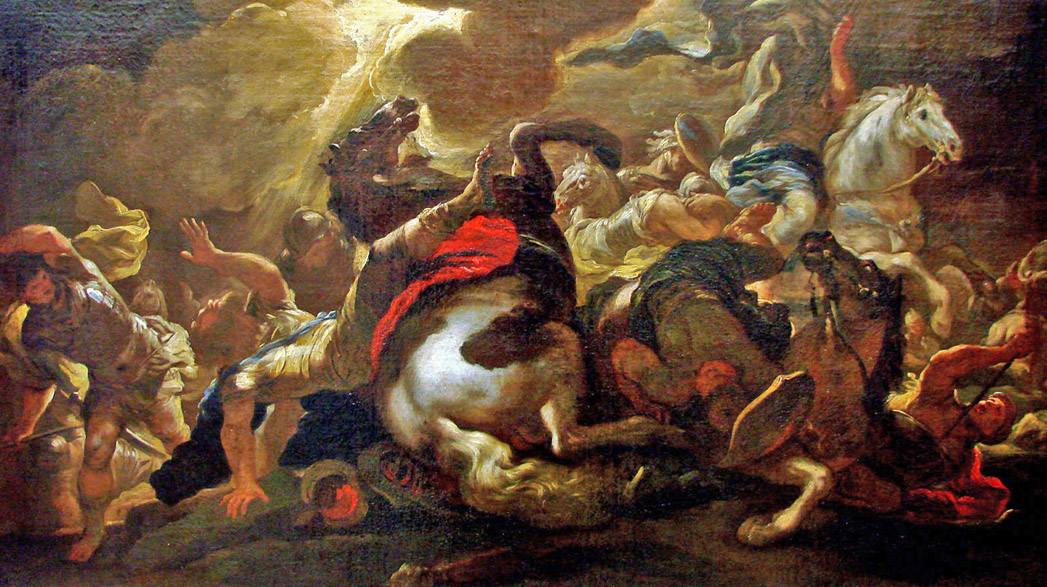 12-Luca Giordano_ Conversion of Saint Paul (c 1690) Nancy   BD.jpg