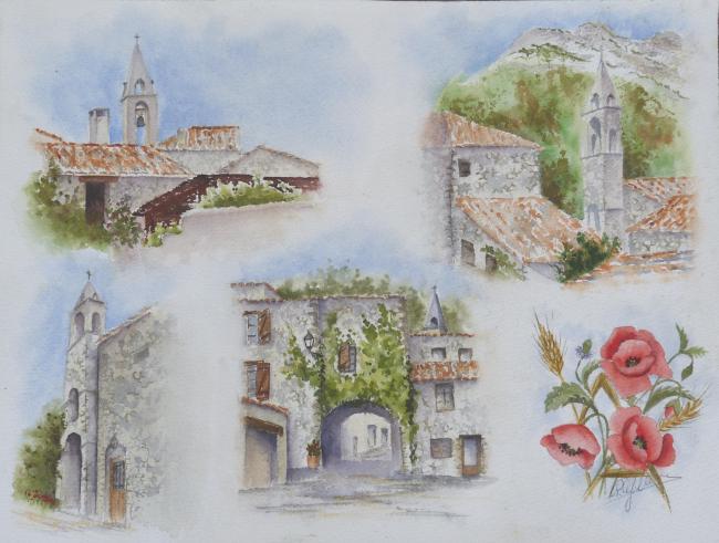 ieux village d'Entrepierres
