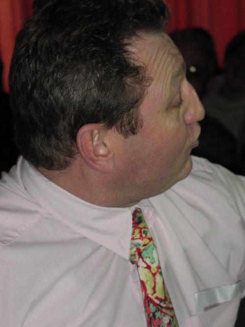 2004 / Fabrice, le mari,  en spectateur grognon