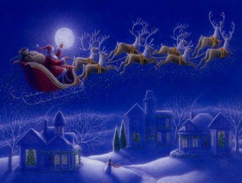 Fond de page Noël