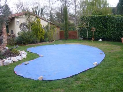 Implantation piscine c line07 waterair en haute garonne for Construction piscine haute garonne
