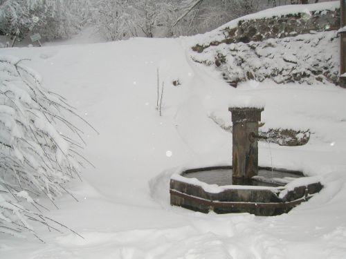 Bassin des Arnauds hiver