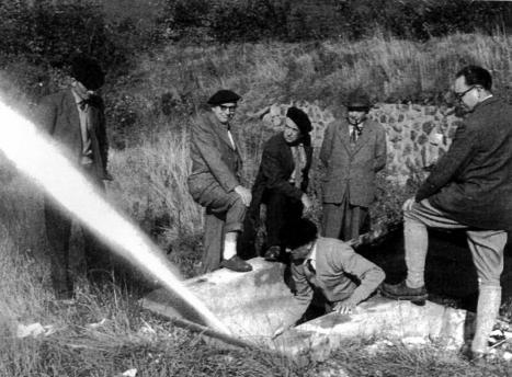 Recption des travaux de Fontaine Pelouse-1954.jpg