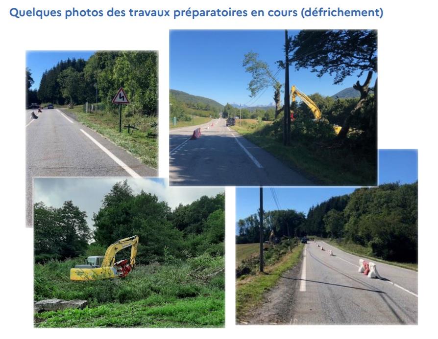 Travaux RN 85-photos-sept 20