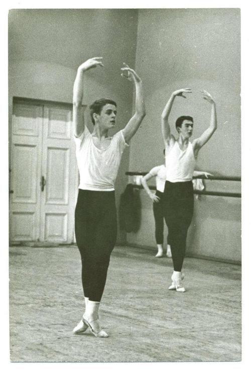 in 1962 at the Vaganova ballet academy.jpg