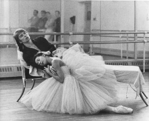 Rudolf Nureyev and Margot Fonteyn  -