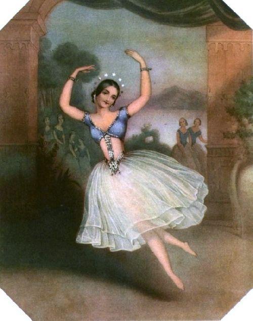 Carlotta Grisi, la Péri
