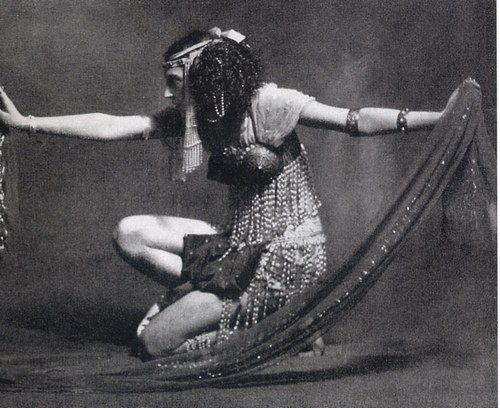 Ida Rubinstein - Cléopâtre - 1909