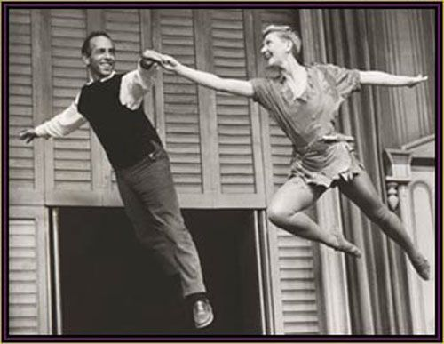 Jerome Robbins et Mary Martin dans