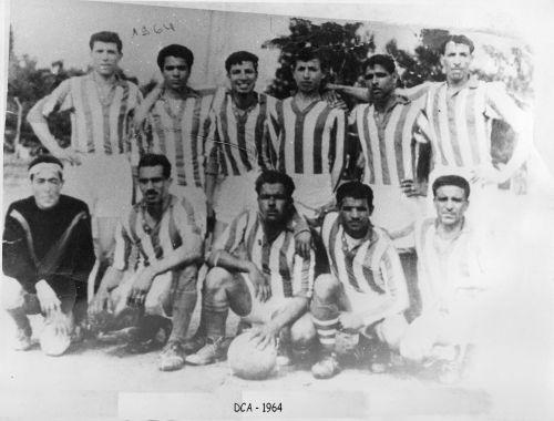 DCA  1964 au stade de Cheffa ( La Chiffa)