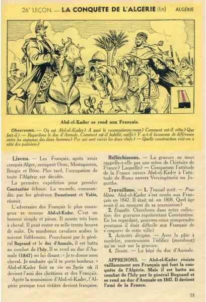 page d'un livre d'histoire