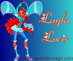 Wallpaper fond ecran layla aisha lovix pour telephone mobile portable