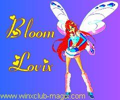 Wallpaper fond ecran bloom lovix pour telephone mobile portable