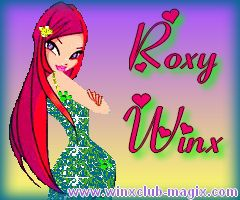 Wallpaper fond ecran roxy en tenue de bal pour telephone mobile portable