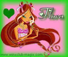 winx club flora portrait saison 4