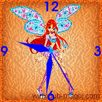 winx clock bloom believix horloge