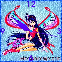 winx clock musa muza believix horloge