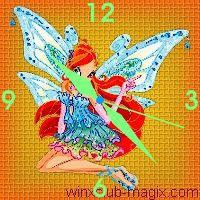 winx clock bloom enchantix horloge