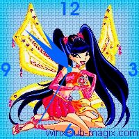 winx clock musa enchantix horloge