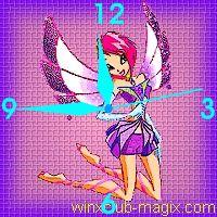 winx clock tecna enchantix horloge