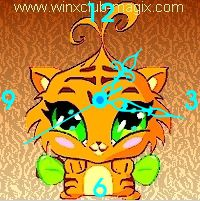 winx clock tigre pet