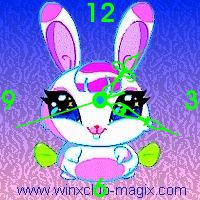 winx clock milly pet