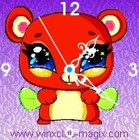 winx clock pepe pet