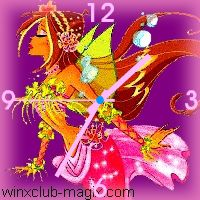 winx clock flora sirene mermaid