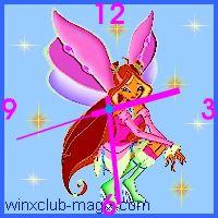 winx clock flora lovix