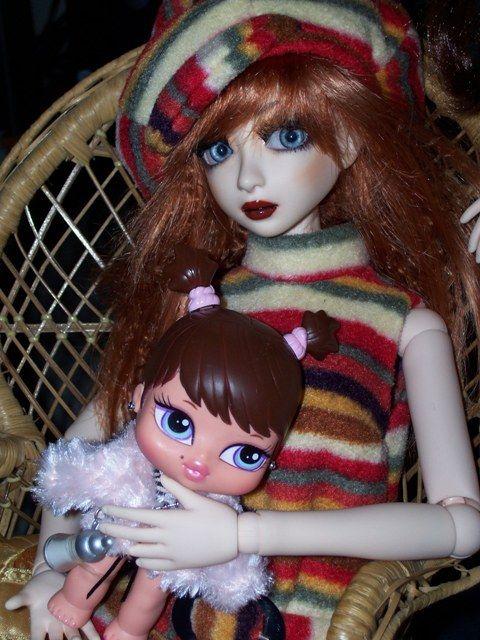 Iridonia a voulu une poupée!!!
