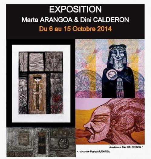 EXPOSITION Marta ARANGOA & Dini CALDERON.jpg