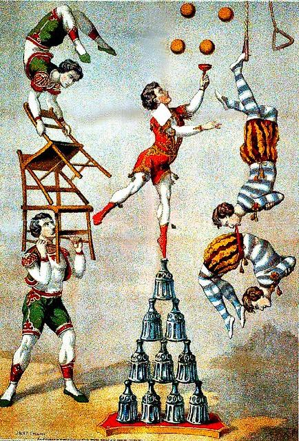 Acrobatie, équilibre et jonglerie
