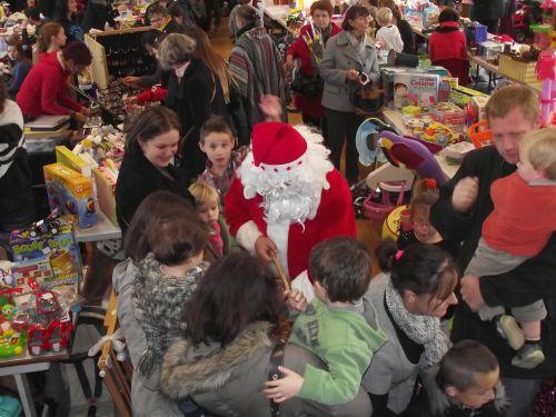 Marché de Noël 2013: le père Noël était bien là