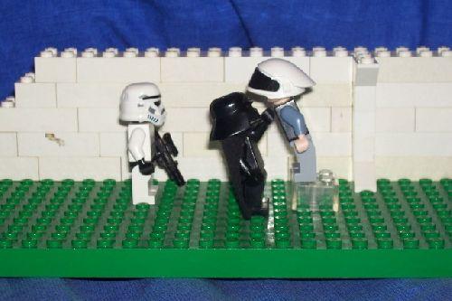 dark vador étranglant un rebelle