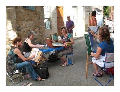 ART DANS LA RUE HERISSON 2009