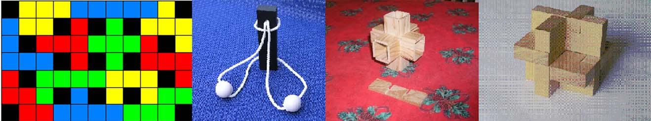 Puzzles & casse-tête en bois gratuits à fabriquer, construire soi-même