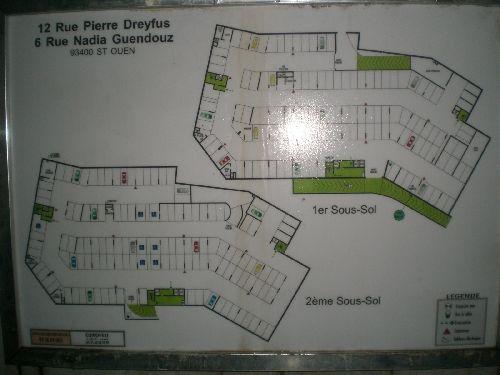 Le Plan du parking privatif